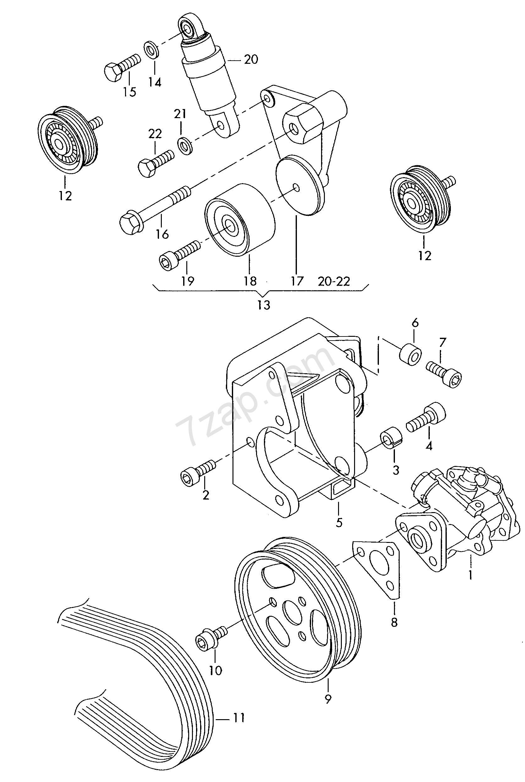 Vane Pump Audi A8 2010 Year Europa 145090 Engine Diagram A8a8