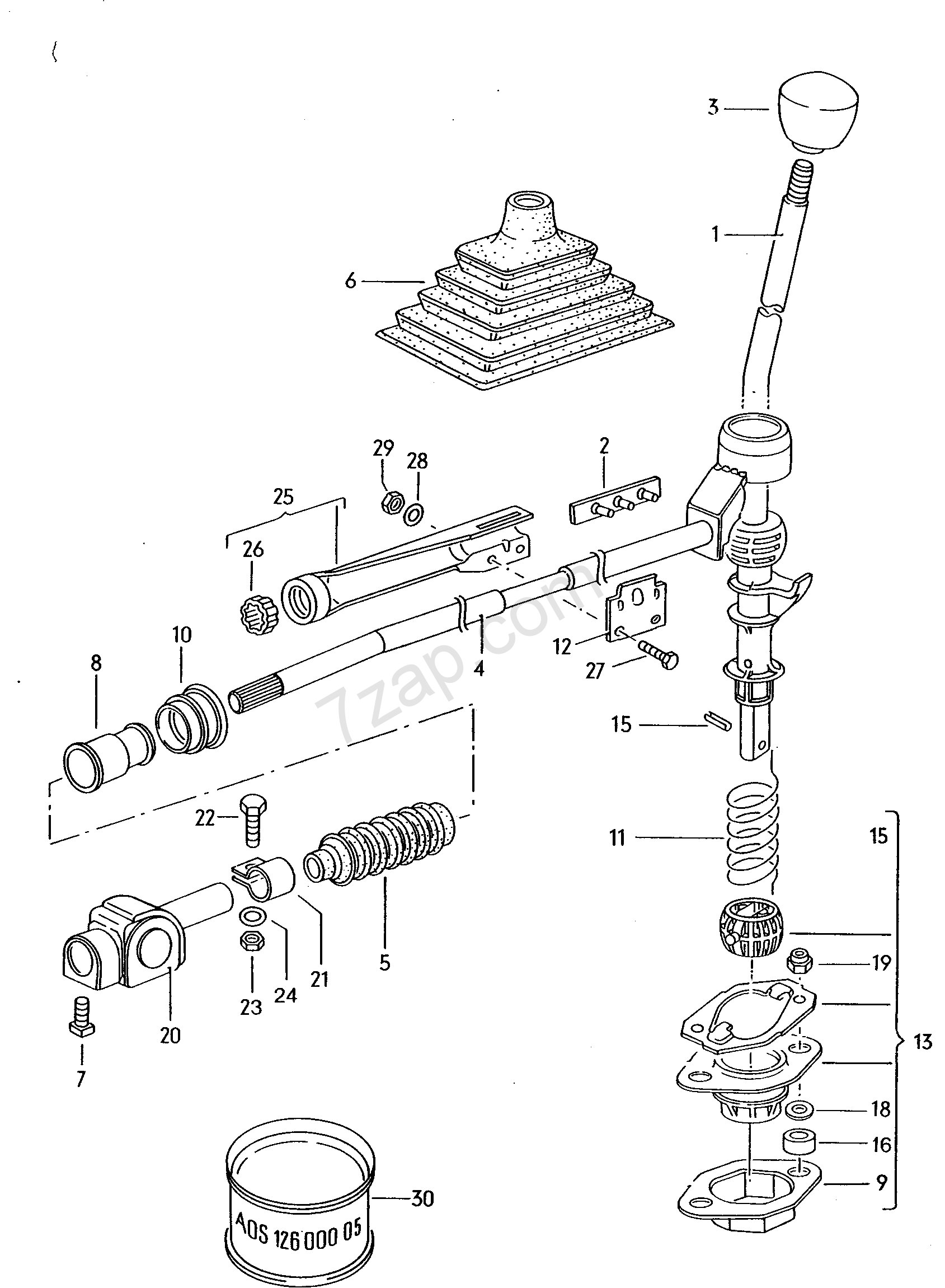 selector mechanism  for 4