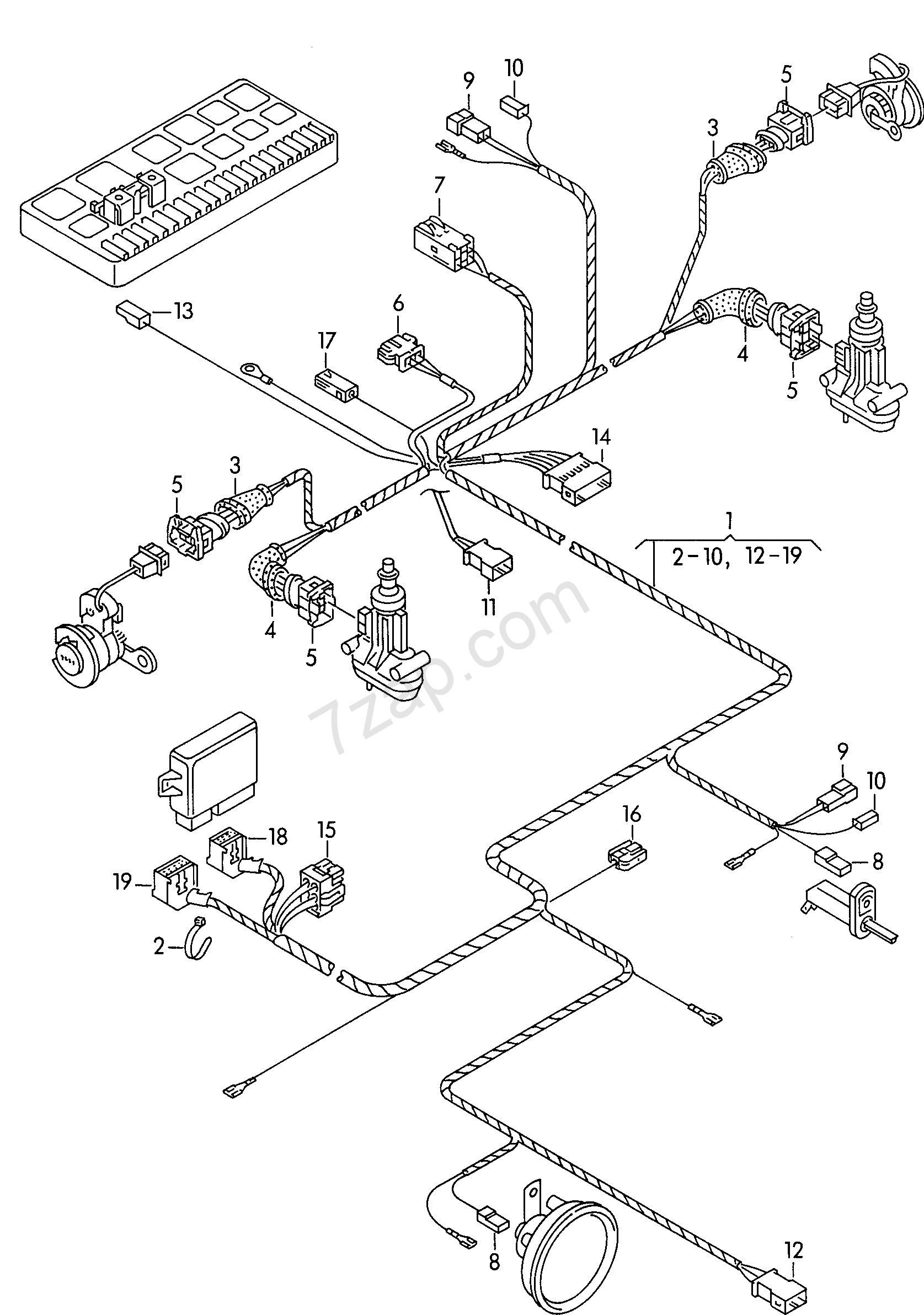 triumph wiring harness diagram