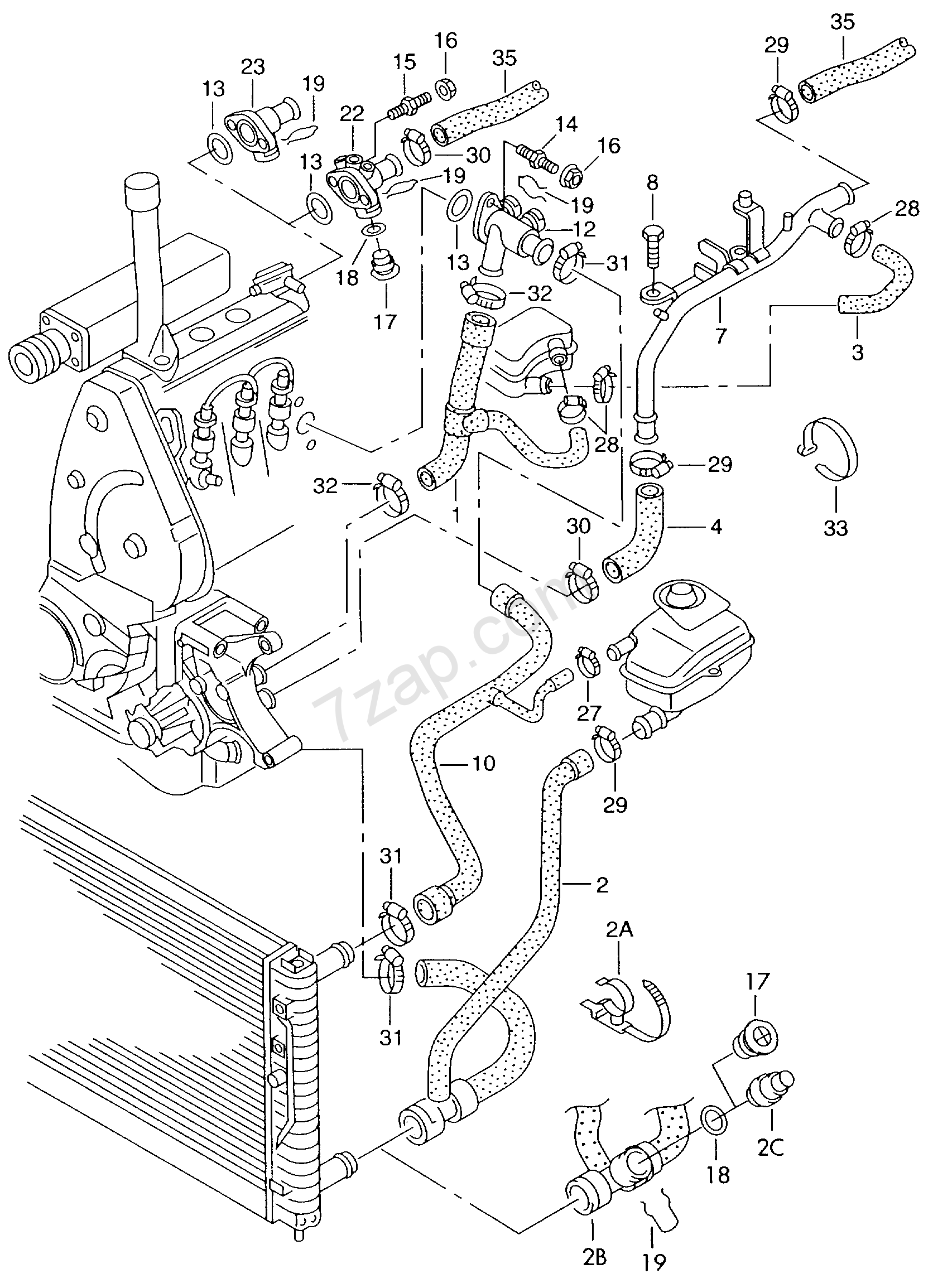 2000 Audi A6 Engine Diagram Cooling System Wiring Diagram Permanent A Permanent A Emilia Fise It