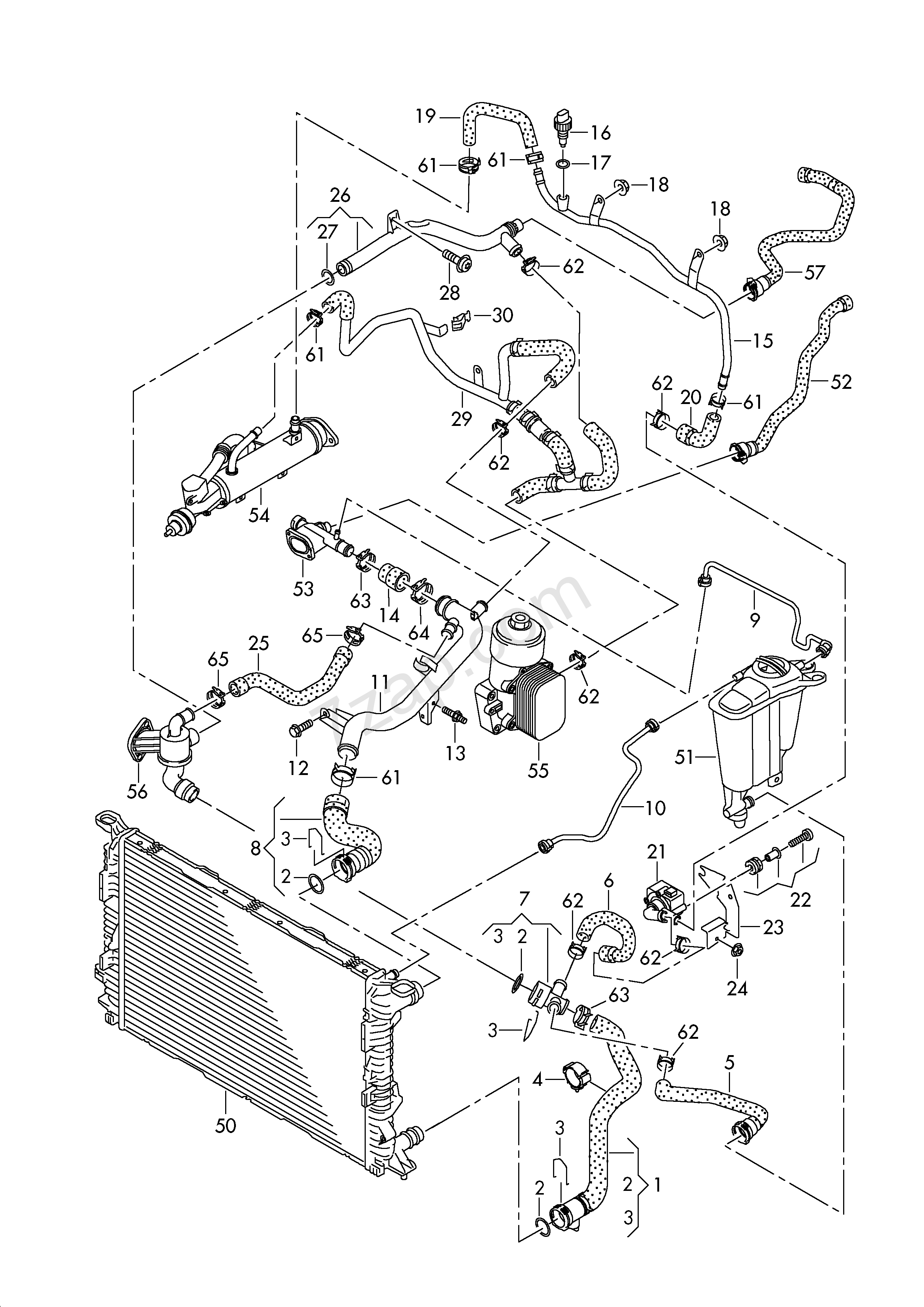 Wiring Database 2020  29 Audi A4 Cooling System Diagram