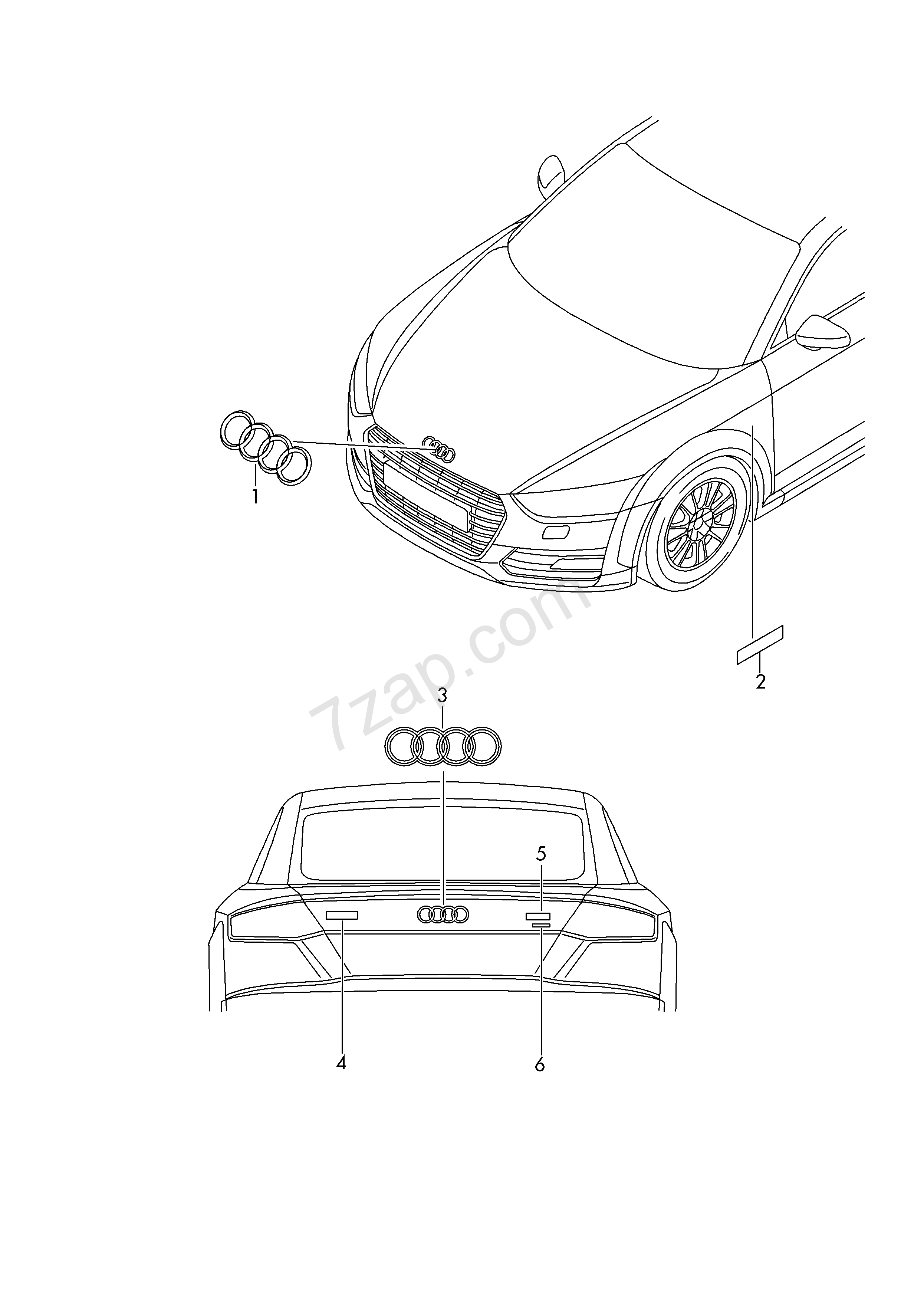 inscriptions  lettering audi tt  tts coupe  roadster  att